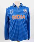 Indian team shirt, 2015 Cricket World Cup