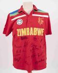 Zimbabwe team shirt, 2015 Cricket World Cup