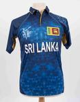 Sri Lanka team shirt, 2015 Cricket World Cup