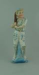 Ceramic figurine, boy with cricket bat