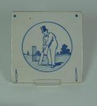 Tile, cricket design