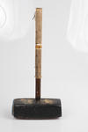 Trugo mallet used by Yarraville Trugo Club members
