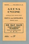 Programme, Arena Cycling 28 Dec 1940